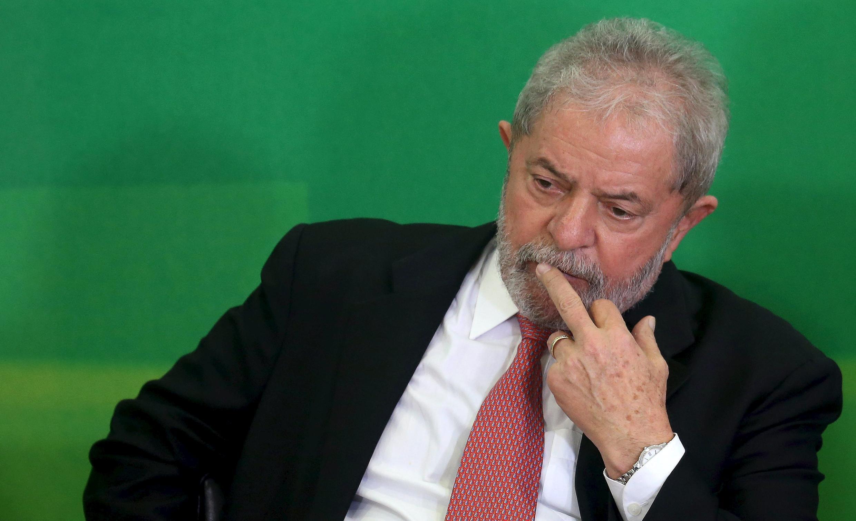 Tsohon shugaban Brazil Lula da Silva cikin wani hotro a shekara ta 2016.
