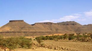 Paysage de l'Adrar, près de Terjit en Mauritanie (photo d'illustration).
