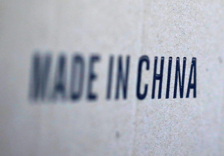Ảnh minh họa : Dòng chữ chụp trên một kiện hàng nhập từ Trung Quốc.