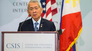 Ngoại trưởng Philippines Perfecto Yasay phát biểu tại Trung Tâm Nghiên Cứu Chiến Lược và Quốc Tế (CSIS), Washington DC, ngày 15/09/2016