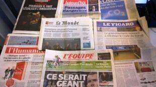 Diários franceses 22/04/2015