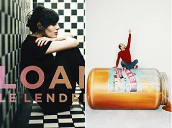 "Альбомы 2011 года: Loane (Лоан Ратье) ""Le lendemain"" и Ours (Медведь=Стефан Сушон) ""El"""