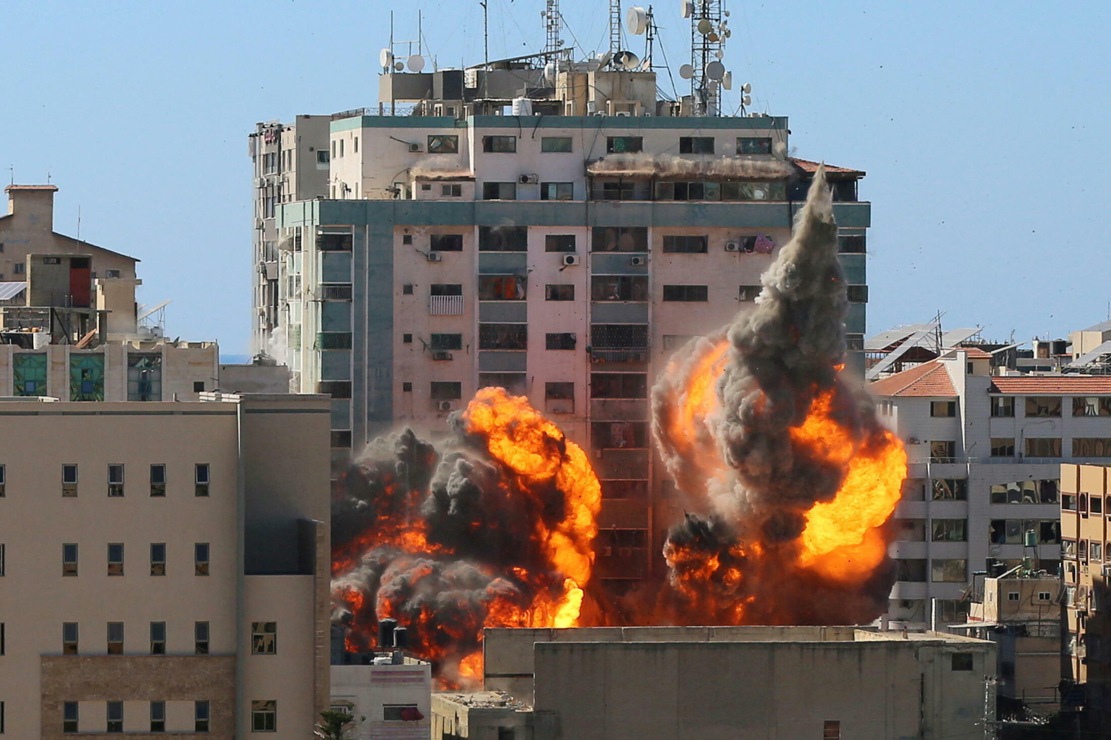 2021-05-15T153405Z_1781652569_RC2FGN97Z07T_RTRMADP_3_ISRAEL-PALESTINIANS-TOWER-MEDIA