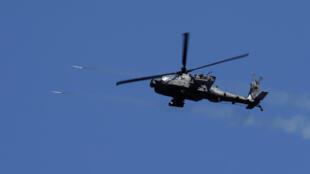La première frappe des hélicoptères a eu lieu dimanche dans la vallée du Tigre. La frappe a permis de détruire un véhicule bourré d'explosifs de l'EI.