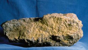 Minerai d'uranium.