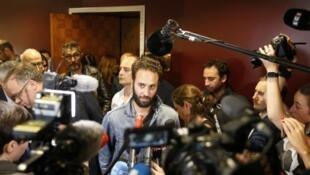 Mathias Depardon arrives in Paris on Friday
