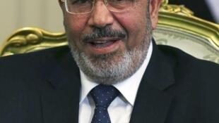 O presidente do Egito, Mohamed Morsi.