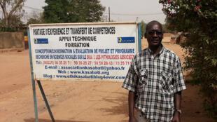 Augustin Sankara, président de l'Association Kasabati.