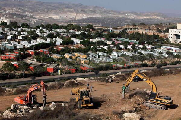 Israel tiếp tục xây dựng các khu nhà tại Cisjordanie, ngày 27/09/2010