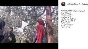 کاربران شبکههای اجتماعی، ویدئوی کتک خوردن دختر جوان از مأموران گشت ارشاد را در کانالهای خود منتشر کردند.