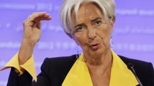 """A diretora-gerente do FMI afirmou que a instituição """"está pronta para tudo""""."""