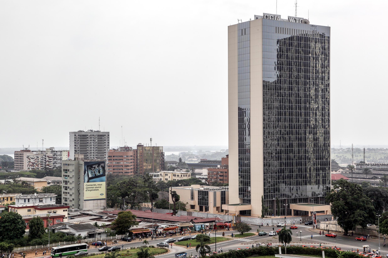 Le siège de la Banque africaine de développement, à Abidjan.