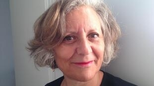 Seloua Luste Boulbina chez elle à Paris.