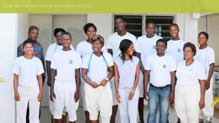 Capture d'écran du site du club des métiers d'art et d'artisanat du Togo.