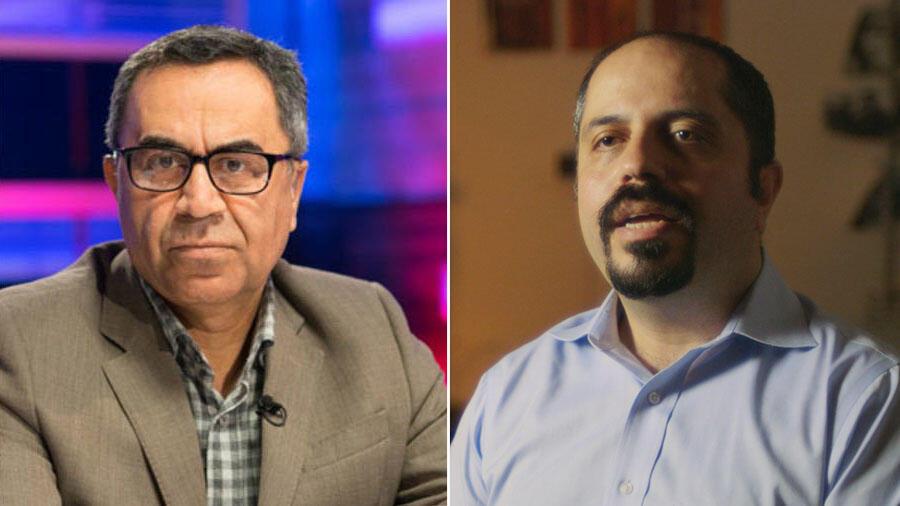 علی افشاری، فعال و تحلیلگر سیاسی ساکن واشنگتن و رضا علیجانی، فعال و تحلیلگر سیاسی ساکن پاریس