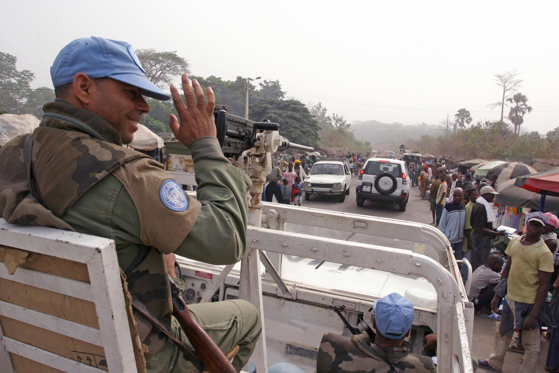 La quasi-totalité des Casques bleus ont quitté la Côte d'Ivoire en février 2017.