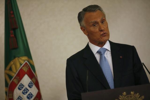 O presidente português, Anibal Cavaco Silva