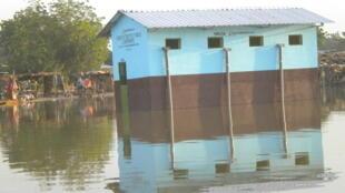 Le quartier de Walia est régulièrement inondé. La crue de 2010 a marqué les esprits dans le quartier. (Photo d'archive)