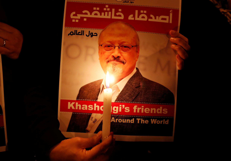 Picha ya Mwanahabari wa Saudi Arabia Jamal Khashoggi