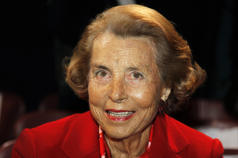 Liliane Bettencourt, em foto de janeiro deste ano.