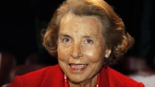 L'Oréal heiress Liliane Bettencourt