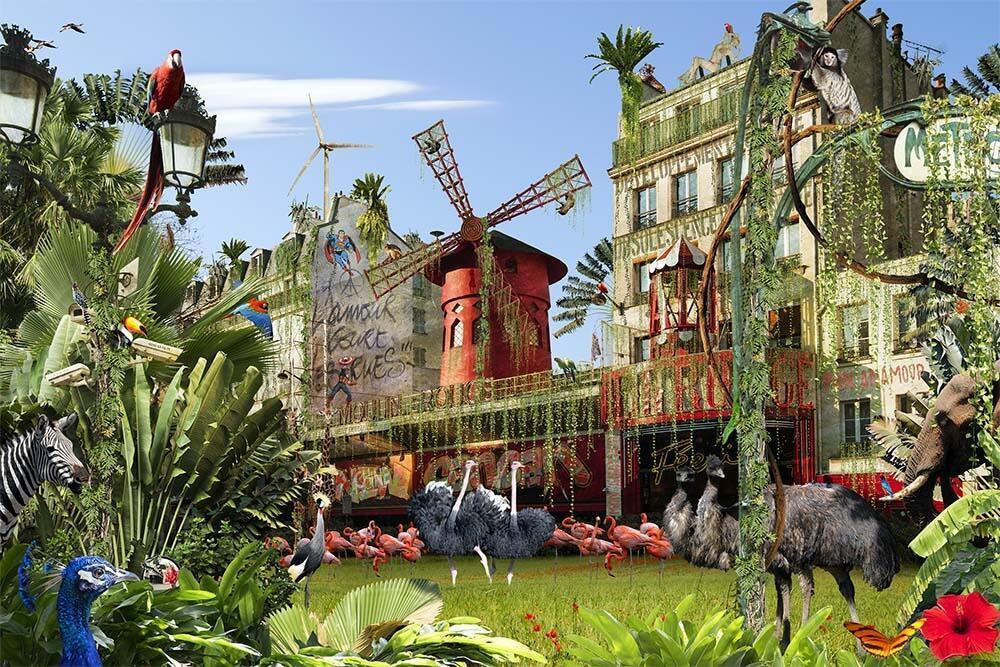 """""""Paris, Pigalle Jungle Parade"""", 2016."""
