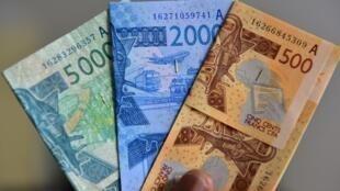 Des billets de Franc CFA (image d'illustration).