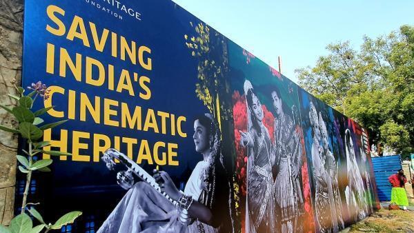 Entrée de la 5e édition du festival Saving India's Cinematic Heritage.