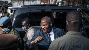 Each time he travels, Central African Republic President Faustin Archange Touadera is escorted by a hefty guard of UN peacekeepers and private Russian security agents
