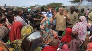 Baadhi wananchi wa Somalia wanaokabiliwa na njaa