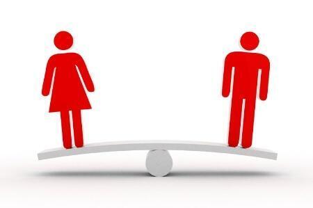 A desigualdade entre homens e mulheres diminuiu levemente entre 2012 e 2013.