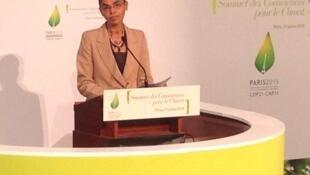Marina Silva foi uma das participantes da cúpula Consciências para o Clima, promovida pelo presidente francês, François Hollande.