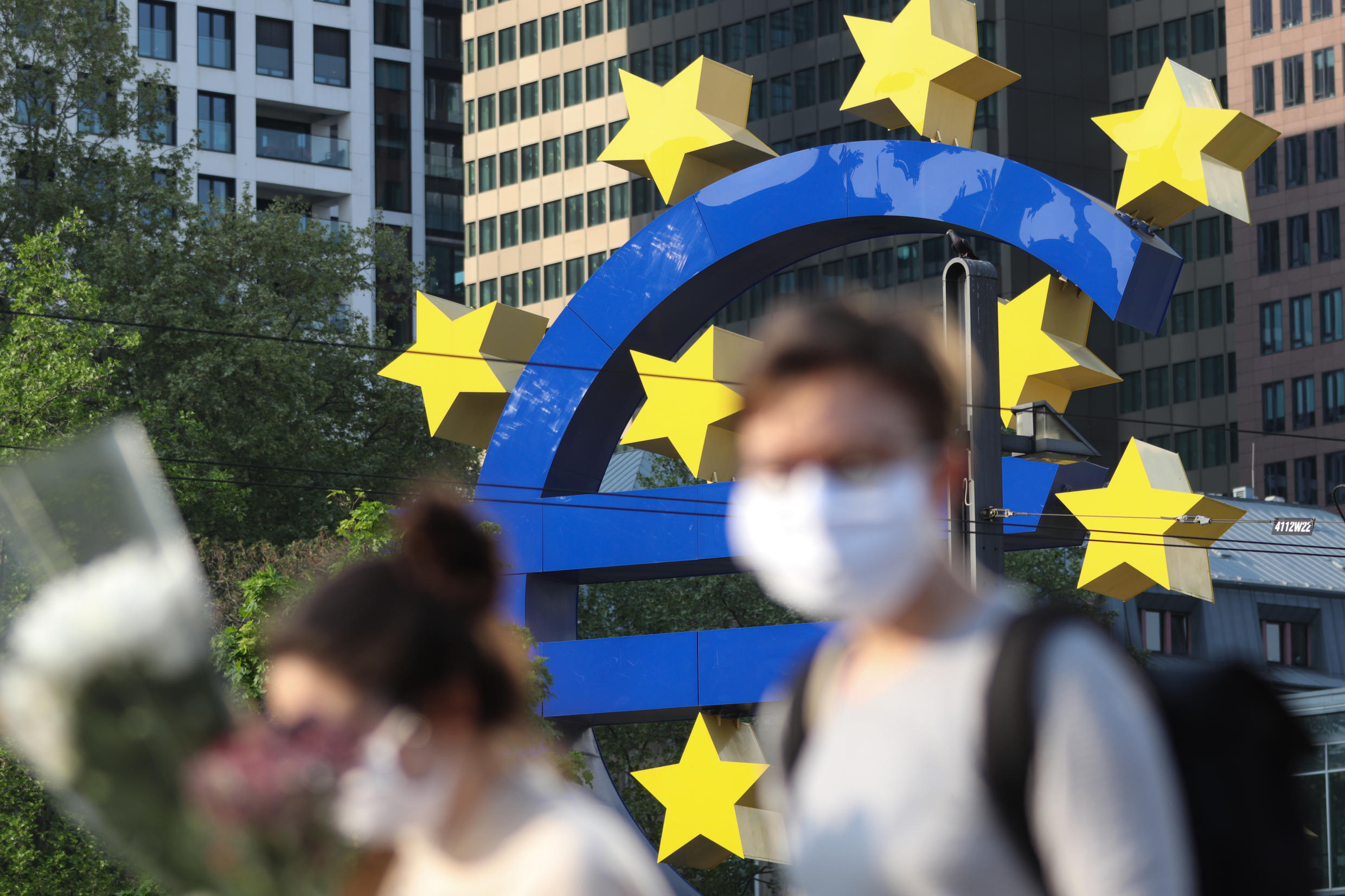 The ECB has taken a series of measures to prop up the eurozone as lockdowns to slow the spread of the coronavirus have hammered economic activity