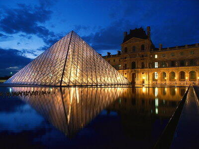 Le musée du Louvre à Paris.