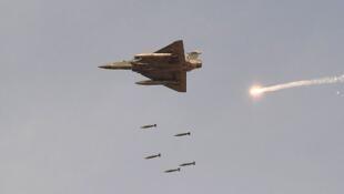 """""""Mirage 2000H"""" da força aérea indiana."""