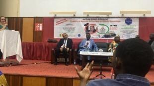 Les 100 ans de l'Ecole de Médecine de l'Afrique Occidentale Française à Dakar.