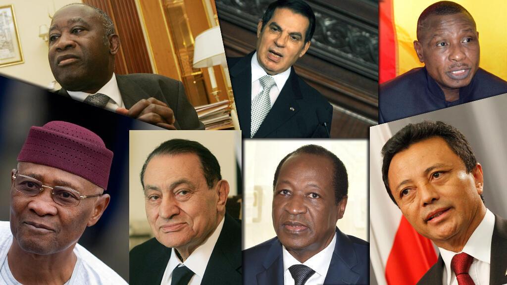 Les anciens chefs d'État africains connaissent des sorts variés.