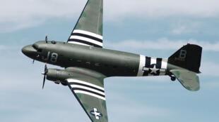 L'avion militaire Douglas C47 Dakota, star du débarquement.