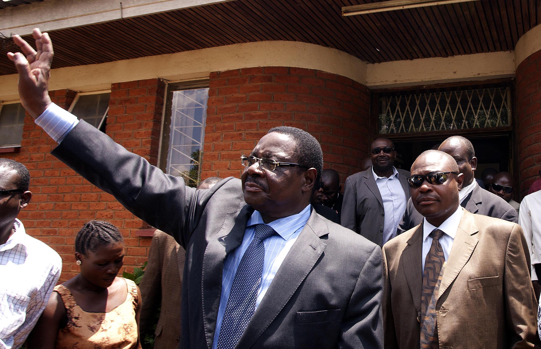 Rais wa Malawi, Peter Mutharika ambaye ameshinda uchaguzi kwa muhula wa pili, picha kutoka maktaba:: 14 November 2013