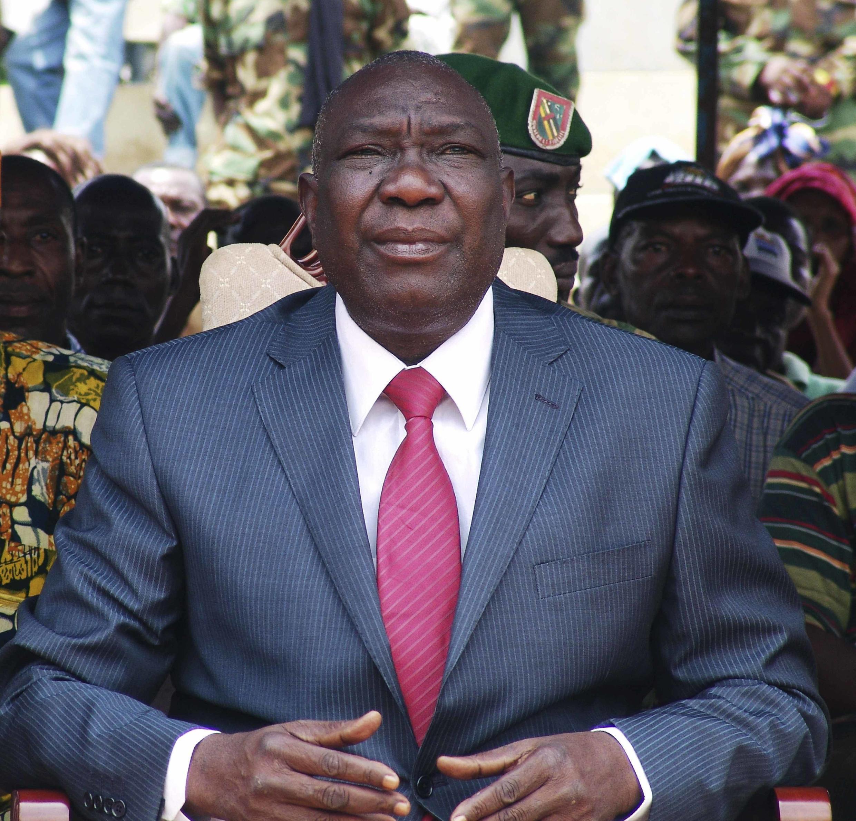 Le président centrafricain Michel Djotodia.