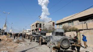 Dakarun Iraqi sun yaki IS a gabashin Mosul