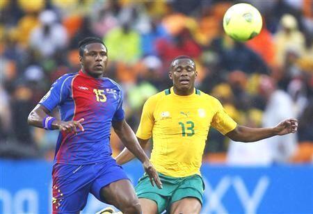 Marco Soares, na esquerda, durante o CAN 2013 que se disputou na África do Sul. Arquivo.