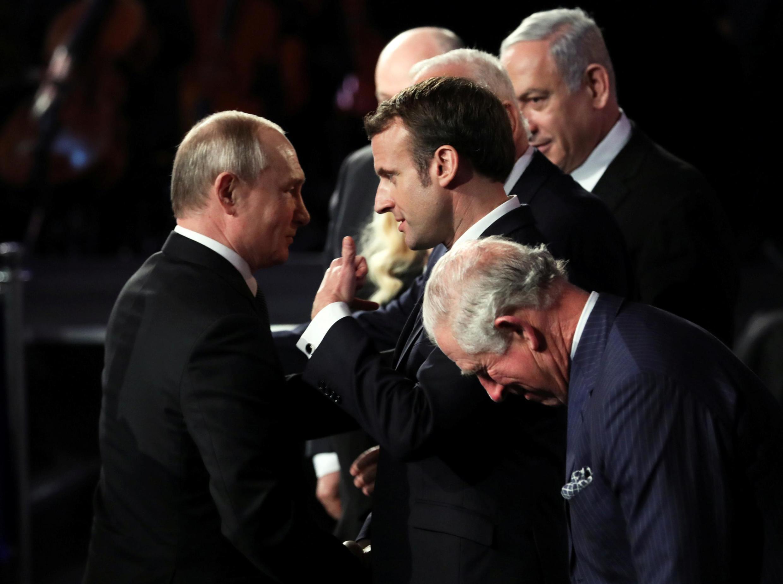 Владимир Путин и Эмманюэль Макрон приняли участие в Форуме памяти жертв Холокоста в Яд ва-Шеме