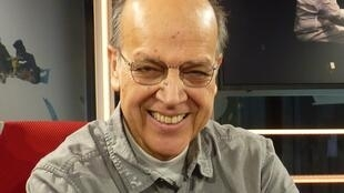 Manuel Villarroel en los estudios de RFI