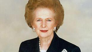 Margaret Thatcher, ancienne Première ministre du Royaume-Uni.