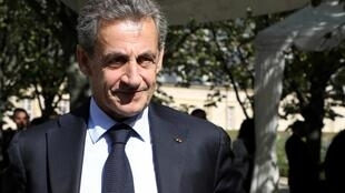 French former president, Nicolas Sarkozy, whose memoir Passions was published 27 June 2019.