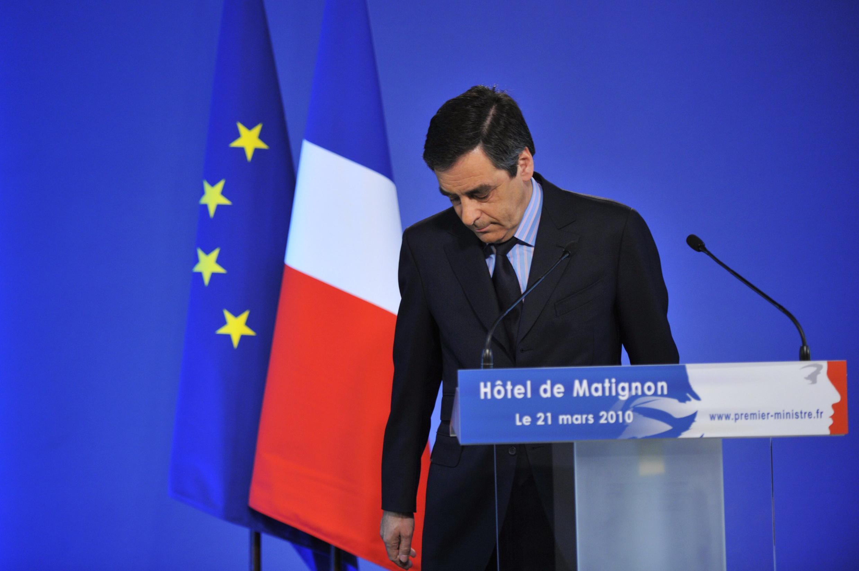 Dans une déclaration depuis Matignon, François Fillon reconnaît le «succès des listes de gauche», qui représente une «déception pour la majorité».