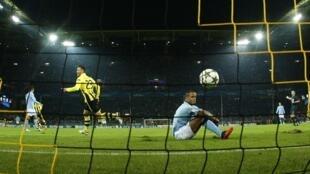 Kwallon ban haushi da Dortmund ta zira a ragar Manchester City