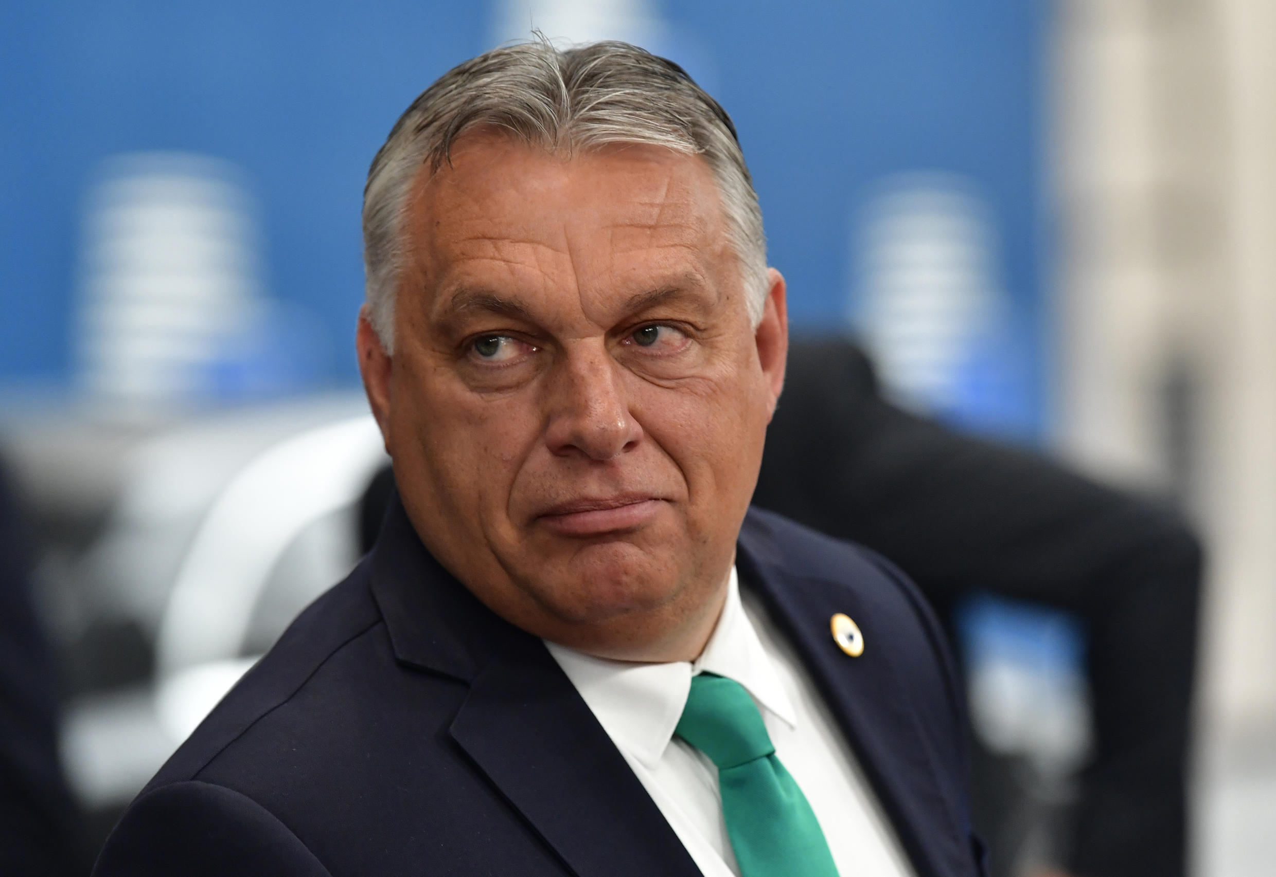 Hungary's Prime Minister Viktor Orban (pictured July 2020) has won three consecutive landslides since 2010, partly due to election rule changes he oversaw