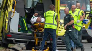 عملیات امدادرسانی پس از حمله مرگبار تروریستی در نیوزیلند-جمعه پانزدهم ماه مارس